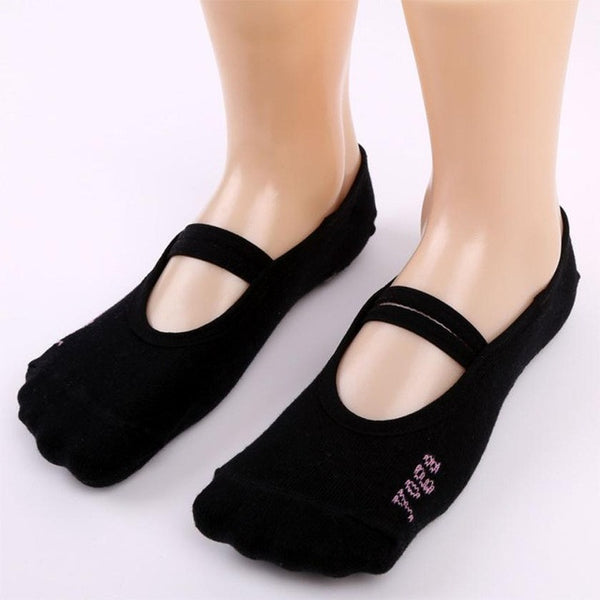 High Quality 1 Pair Fitness Socks Non Slip Pilates Massage Ballet Socks Exercise Soft Cotton Funny Socks sokken - Fashion Shopping 247