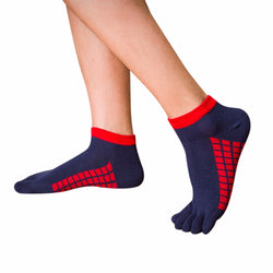 2017 New Mens Toe Yoga  Socks Cotton Five Fingers Sport Socks Running Socks with Toes Ankle Socks 5 colors #EW - Fashion Shopping 247