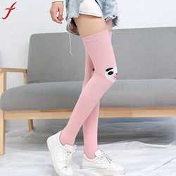 Casual Women Girl Casual Comfortable Catoon Knee High Thigh Socks - Fashion Shopping 247