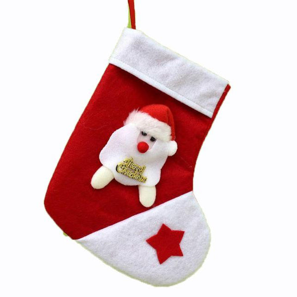 Hot Christmas Stocking Xmas Hanging Decoration Party Ornament - Fashion Shopping 247