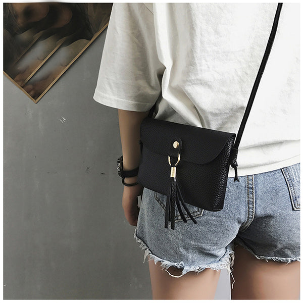 Fashion able Bag Vintage Handbag Small Mini Messenger Tassel Shoulder Bags - Fashion Shopping 247