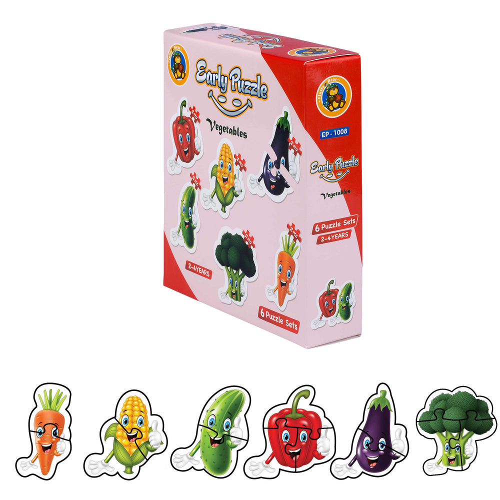 Early Puzzle Vegetables