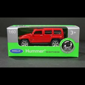 Diecast Car Hummer Red