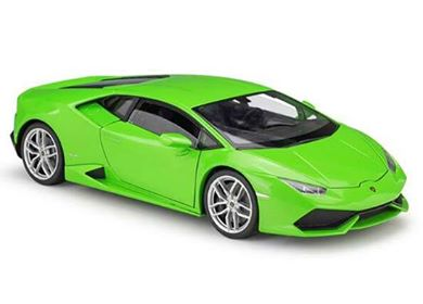 Diecast Car Lamborghini Light Green
