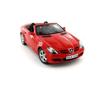 Diecast Car Mercedes Benz Red