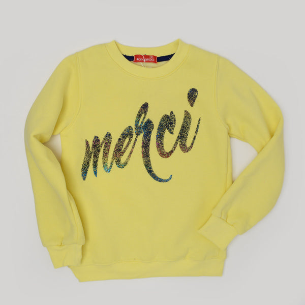 Kangaroo Merci Sweatshirt Yellow