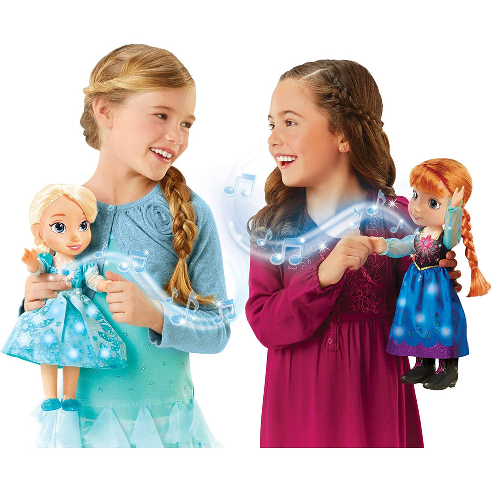 Disney Frozen Singing Sisters, Light Up Elsa and Anna Dolls