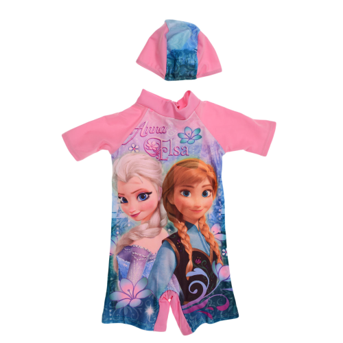 Disney Elsa Swimsuit Pink
