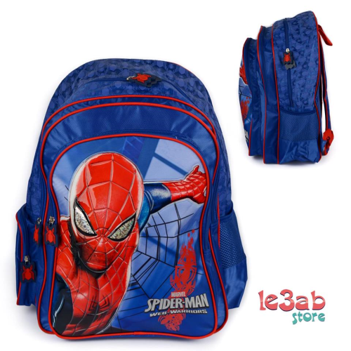 Spider Man BackPack Blue 16