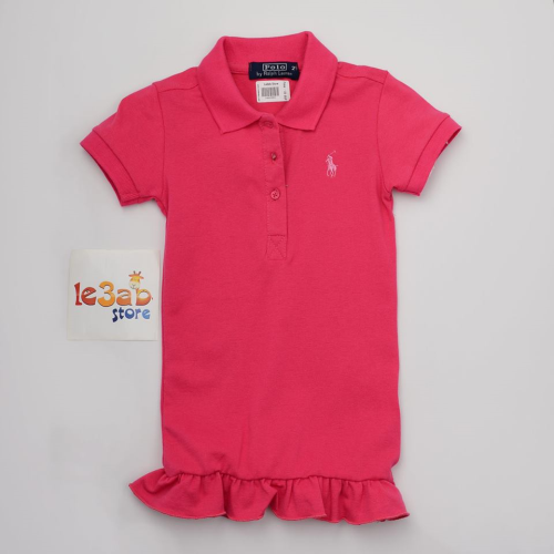 Polo Dress Fushia