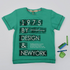 Happy Kids New York Shirt Green