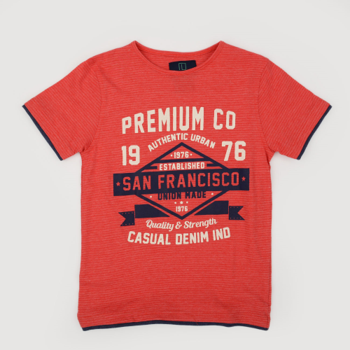 Bonanza San Francisco Shirt Red