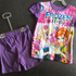 Disney Frozen Pajama Purple