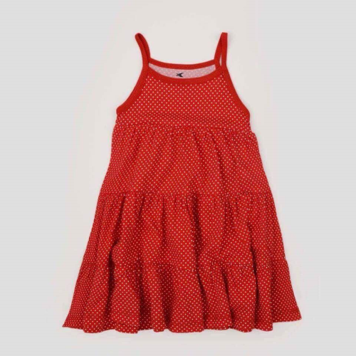 Happy Kids Dress Red