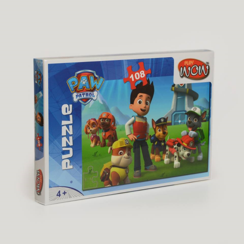 Wow Play Paw Patrol Puzzle 108 Psc.