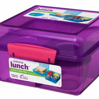 Lunch Cube Max with Yogurt Pot 2L
