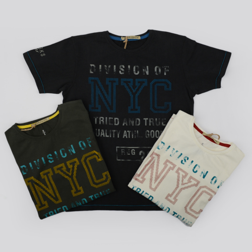 Happy Kids NYC Shirt Dark Green