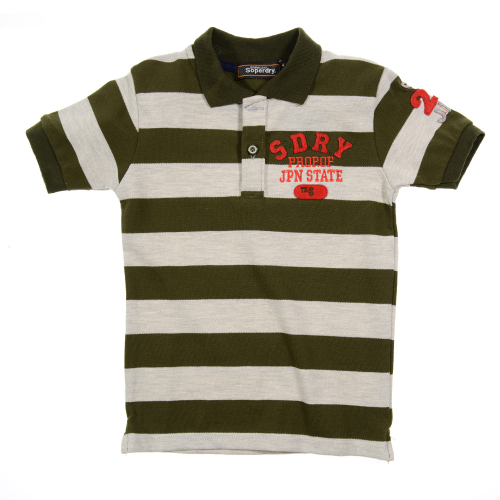 Marz Super dry Polo Dark Green