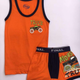 Final Underwear Set Monster Orange