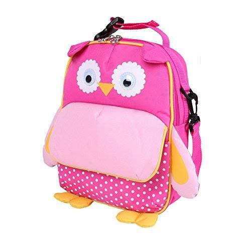 Yodo Owl Backpack Fushia Size 11 inches