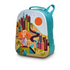 OOPS Happy Dog Backpack 3D  Light Blue