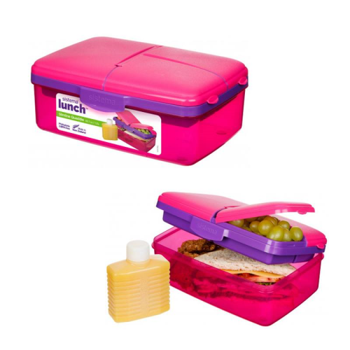 Sistema  Lunch Box Pink 1.5L