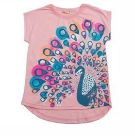 Carrot Peacock Shirt Pink