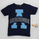 Abercrombie Shirt Blue Black