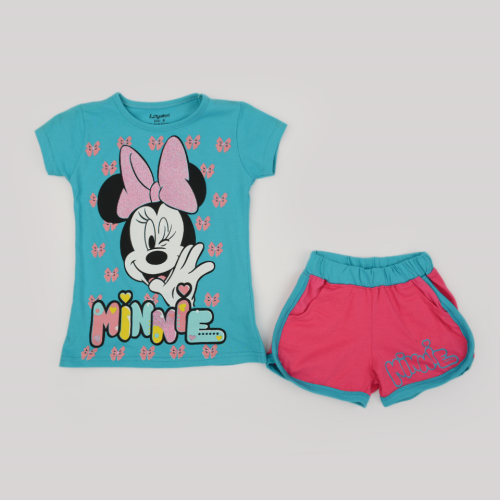 Kangaroo Minnie Mouse Pajama Light Blue