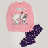 Kangaroo Best Friends Pajama Pink