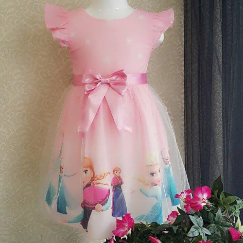 Turkey Frozen Dress Pink
