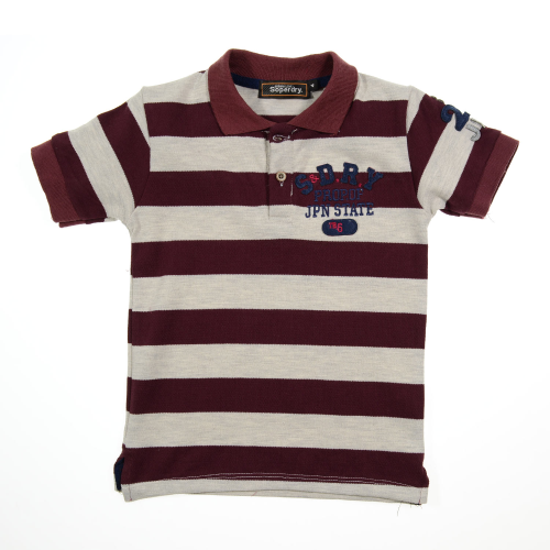 Marz Super dry Polo Dark Red