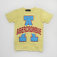 Abercrombie Shirt Light Yellow