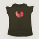H&M Heart Shirt Dark Green