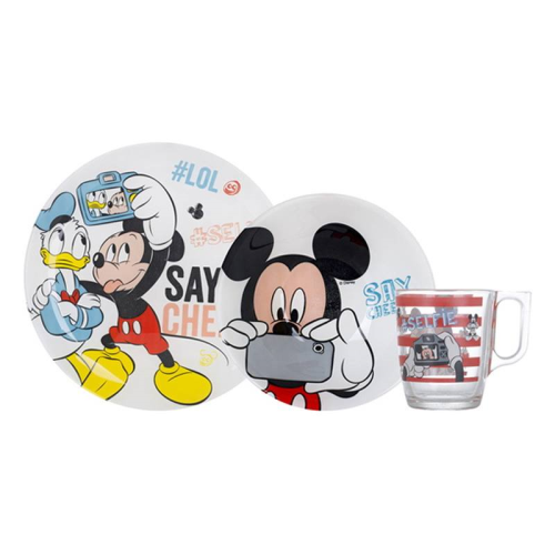 Luminarc Mickey Mouse Kid's Set