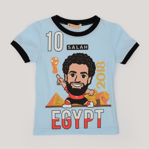 Carrot Mohamed Salah Shirt Light Blue