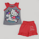 Kangaroo Kitty Pajama Gray