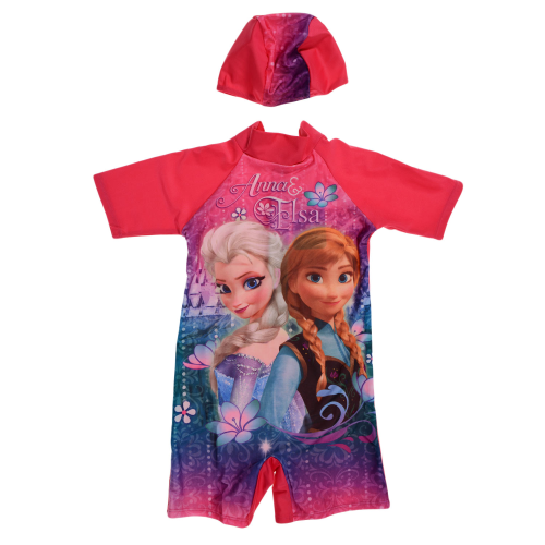 Disney Elsa Swimsuit Fuchsia