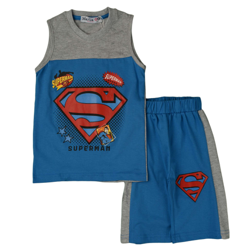 Superman Grey Pajama - Maga