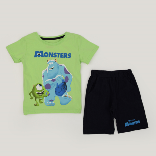 Kangaroo Monster Pajama Green