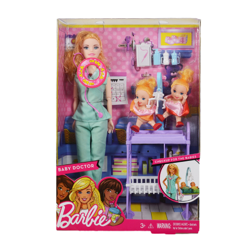 Barbie Baby Doctor Mint