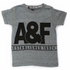 Abercrombie A&F Shirt Grey