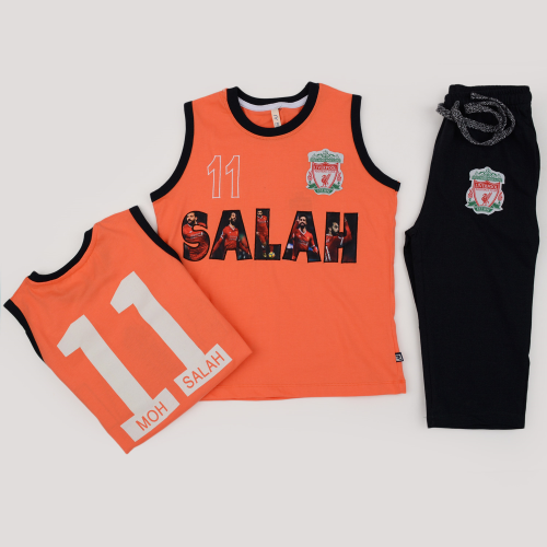 Alex Princess Mohamed Salah Pajama Orange
