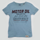 CN Motor Shirt Light Blue