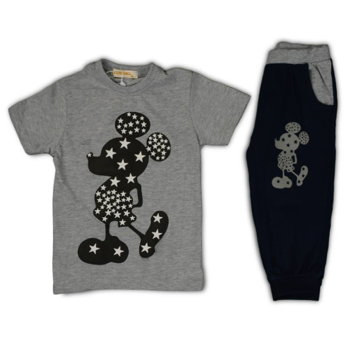 Diesel Minnie Mouse Pajama Gray