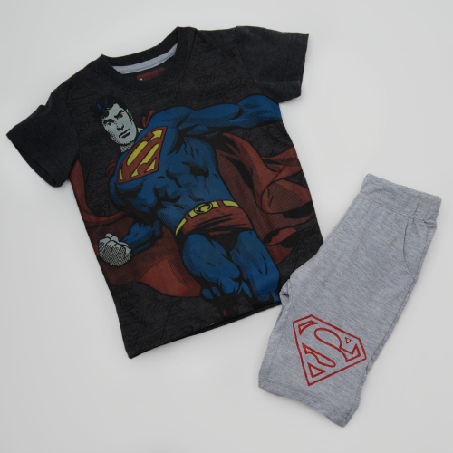 Kangaroo Super Man Pajama Dark Gray
