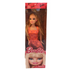 Barbie Doll Heart orange