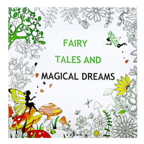 Fairy Tale And Magical Dreams Painting Book