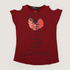 H&M Heart Shirt Dark Red