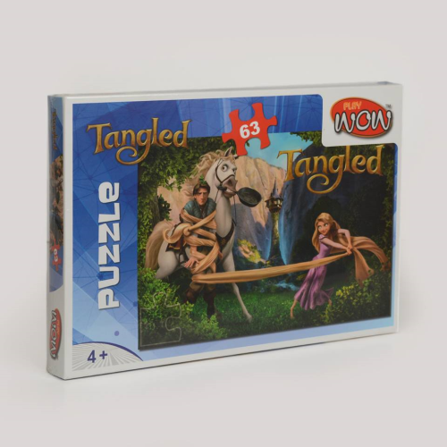 Wow Play Tangled Puzzle 63 PSC